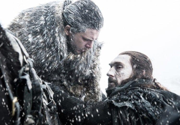 Benjen rescues Jon