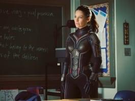 Evangeline Lilly as longer-haired Hope Van Dyne