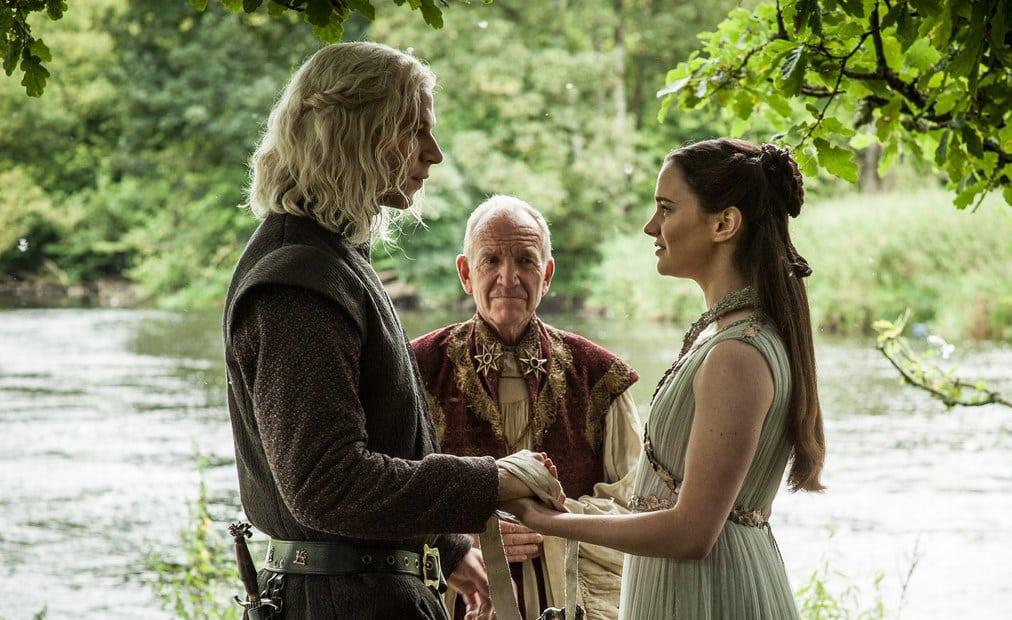 Rhaegar Targaryen and Lyanna Stark wed