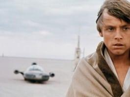 Luke Skywalker retro