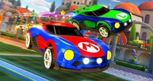 mario luigi rocket league cars