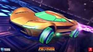 samus gunship rocket league car