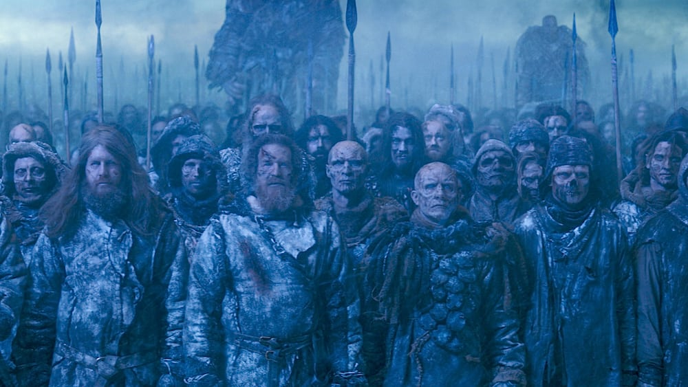 White Walker Army ready and waiting
