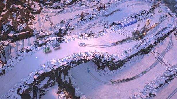 Mantis Burn Racing Snow