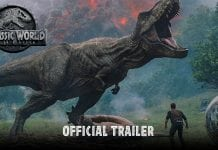 Jurassic World Fallen Kingdom Trex Shot