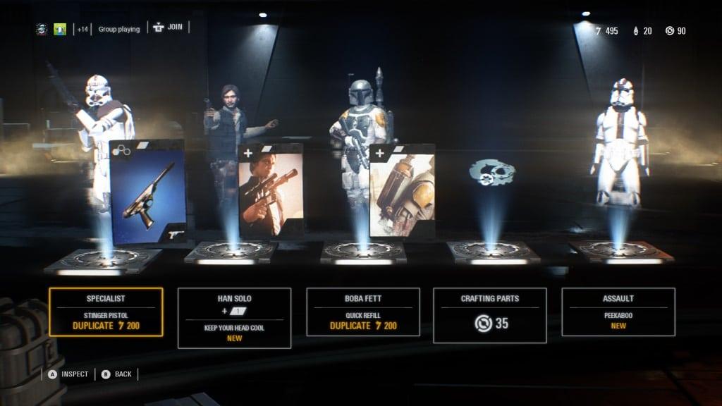 Star Wars Loot Box