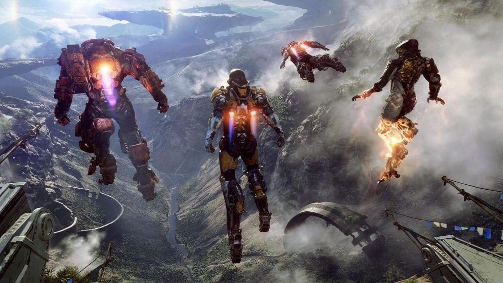 Anthem Xbox One X