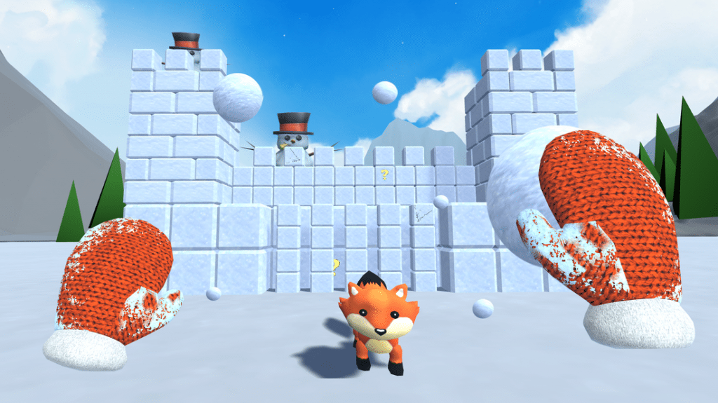 Snow Fortress VR