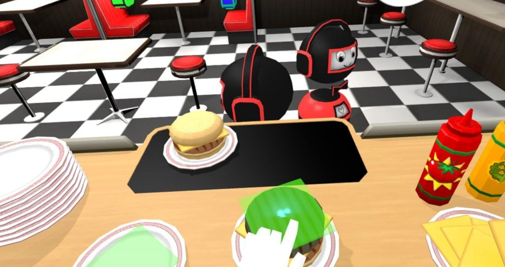 VR Diner Duo