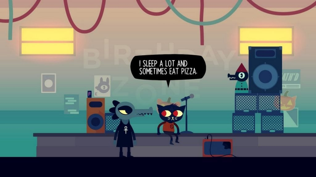 Night in the Woods Pizza