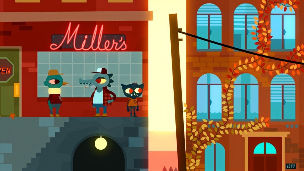 Night In The Woods Switch Review Town