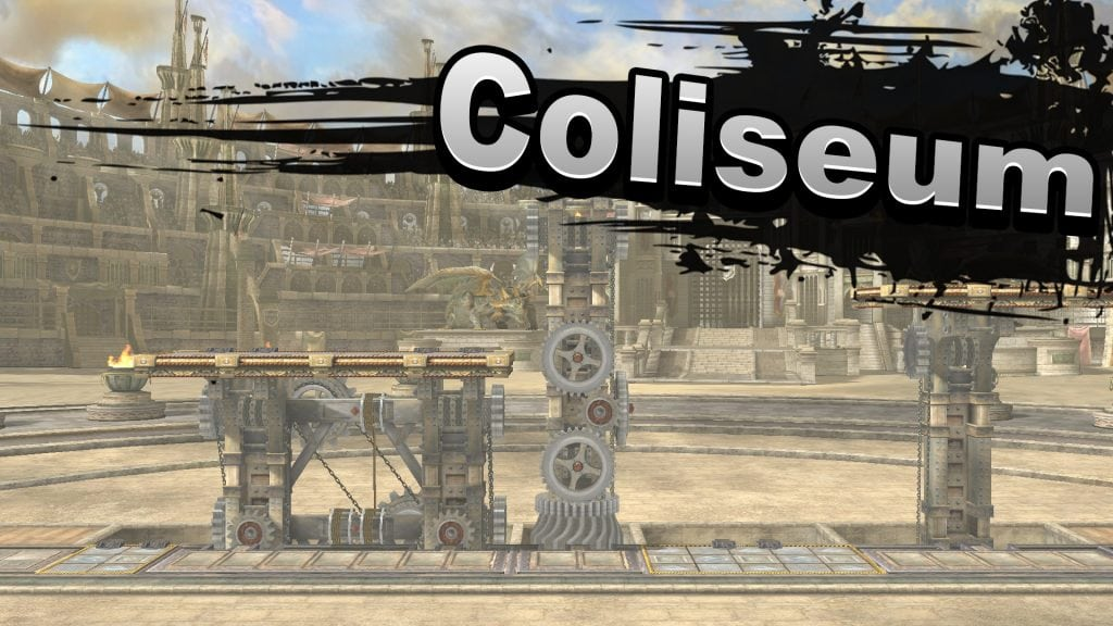 Coliseum Super Smash Bros
