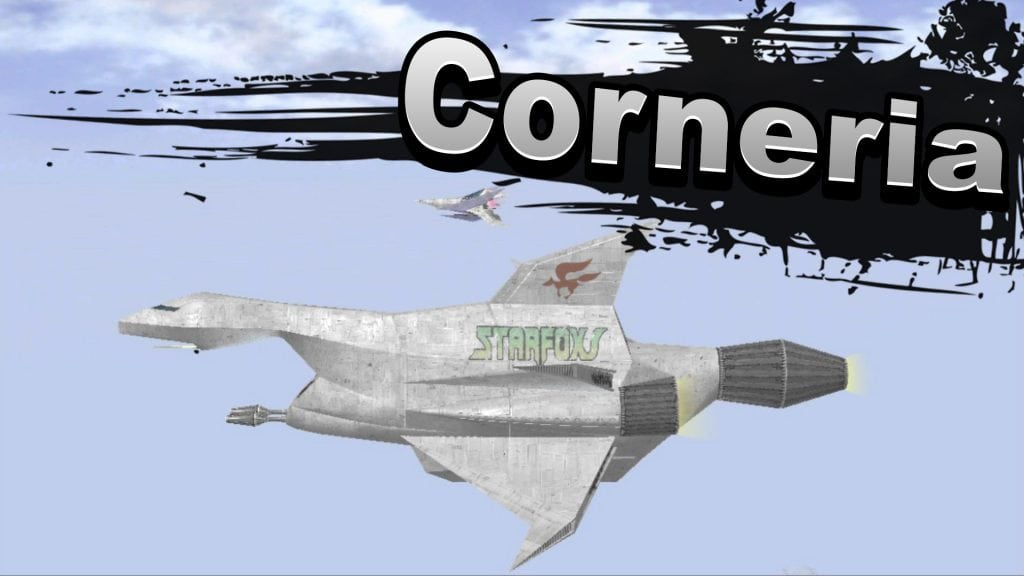 Corneria Super Smash Bros