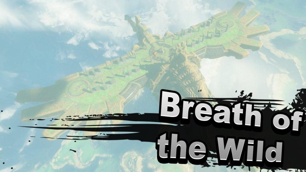 Breath of the Wild Super Smash Bros