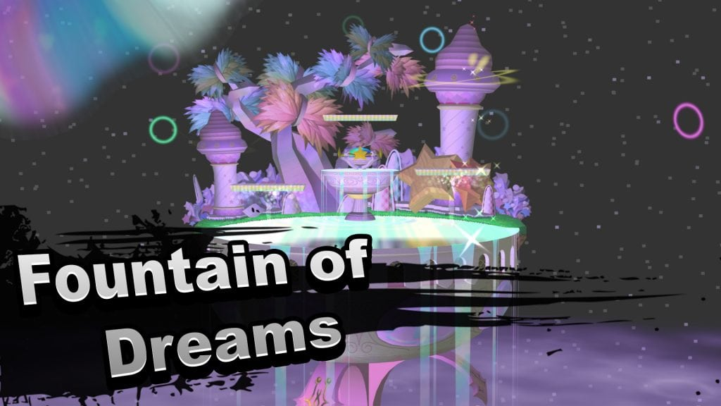 Fountain of Dreams Super Smash Bros
