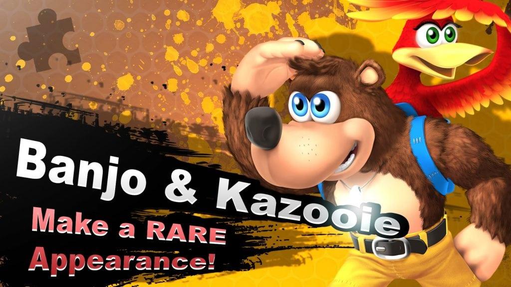 Smash Bros. Switch Banjo-Kazooie