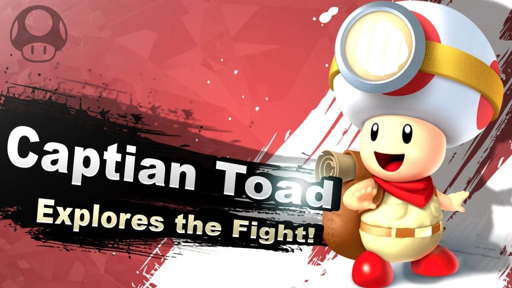 Smash Bros. Switch Captain Toad