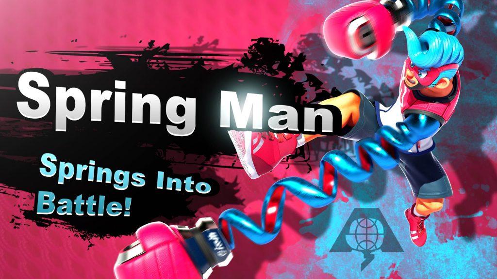 Smash Bros. Switch Spring Man