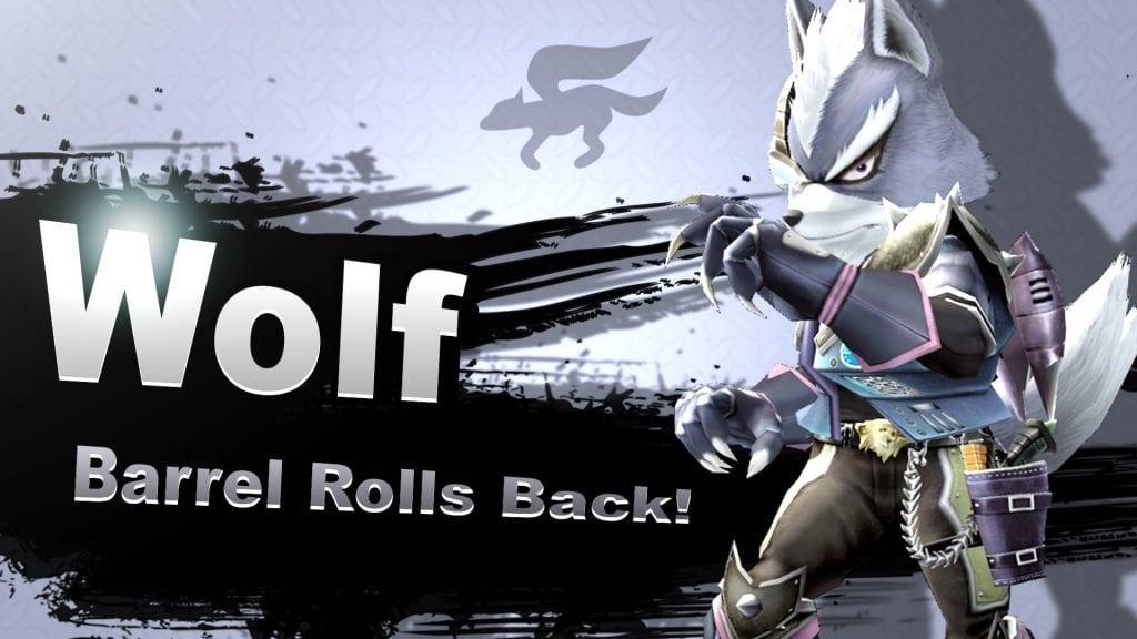 Smash Bros. Switch Wolf