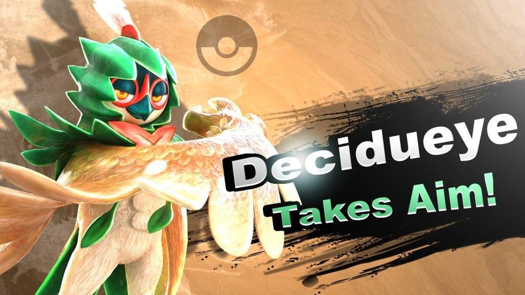 Smash Bros. Switch Decidueye