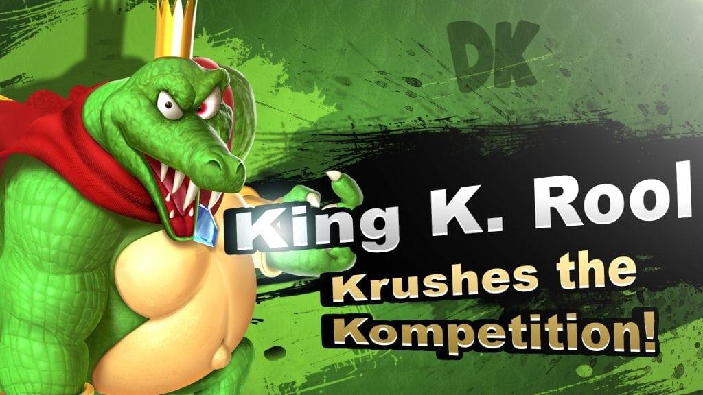Smash Bros. Switch King K Rool