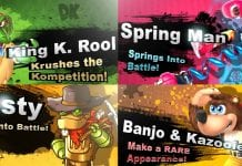 Smash Switch Challengers Splash Screens
