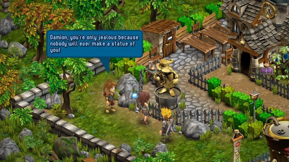 Rainbow Skies PS4 Screenshot
