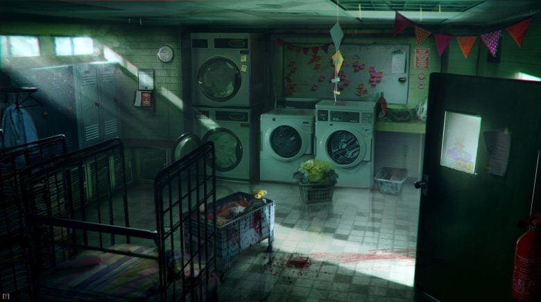 Zombi U Nursery Laundry