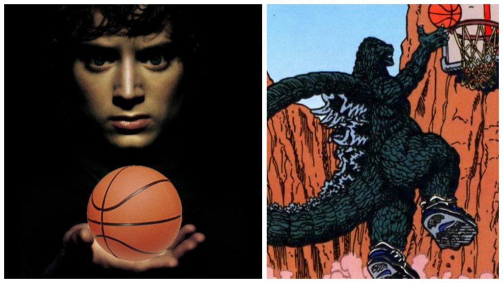 Godzilla vs. Frodo