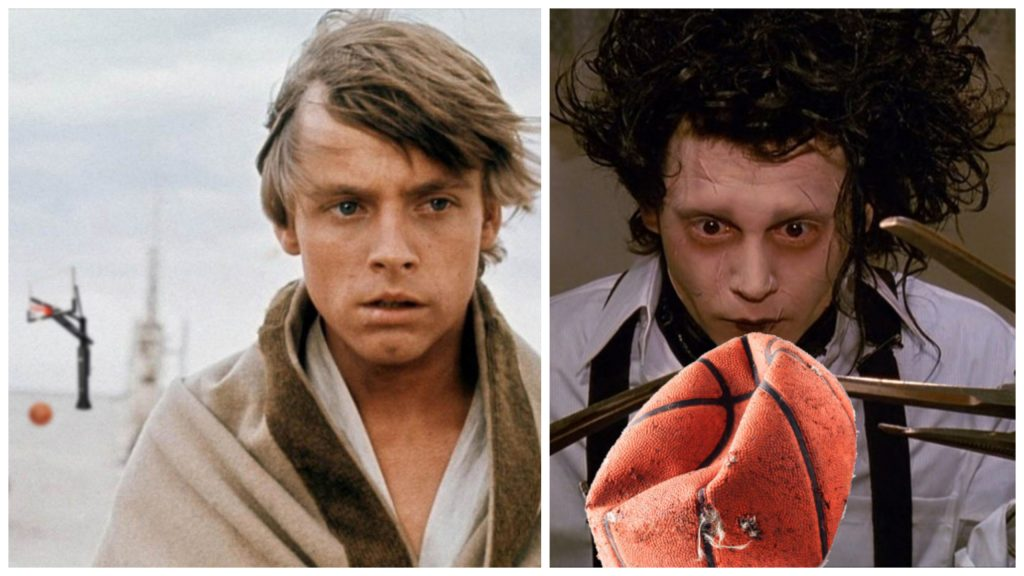 Luke Skywalker vs. Edward Scissorhands
