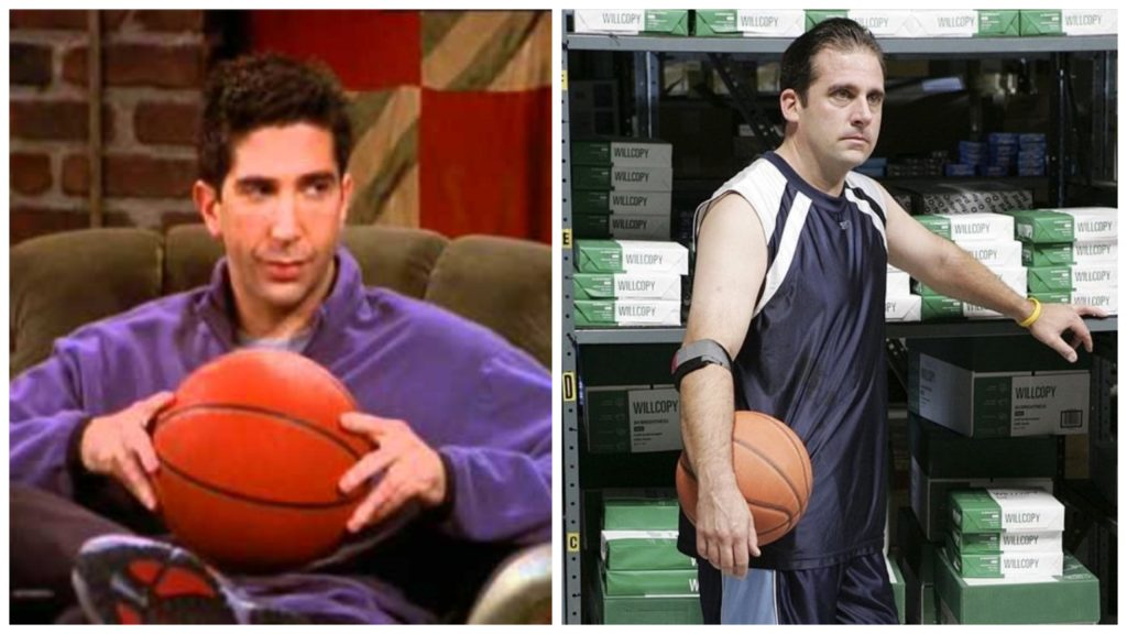 Ross Gellar vs. Michael Scott