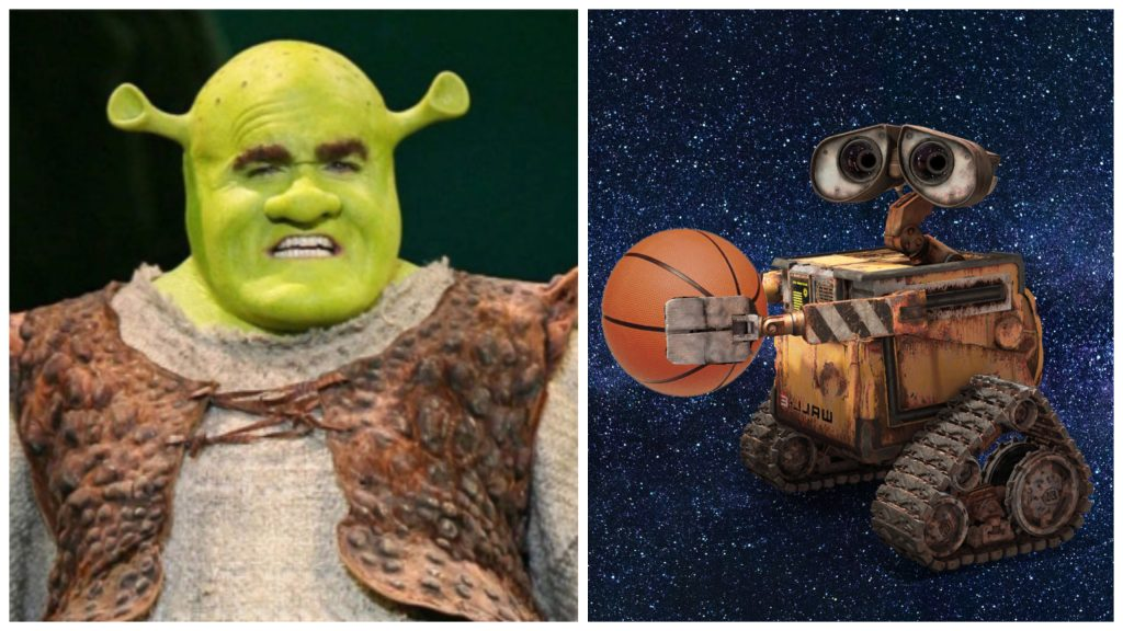 Shrek vs. WALL-E